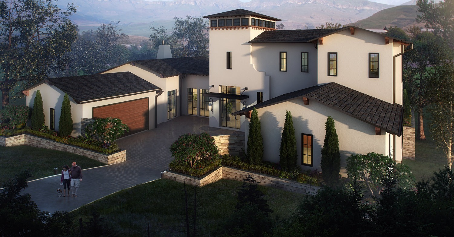 Rough Hollow Exterior Rendering