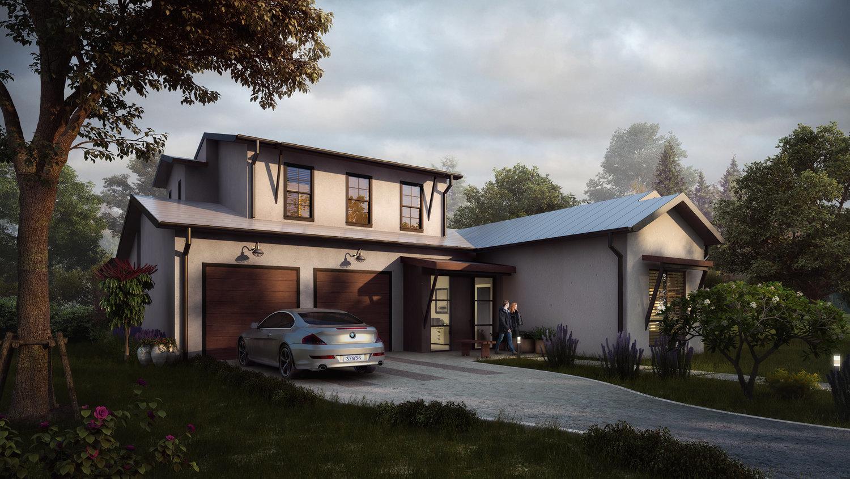 Steed Residence Rendering
